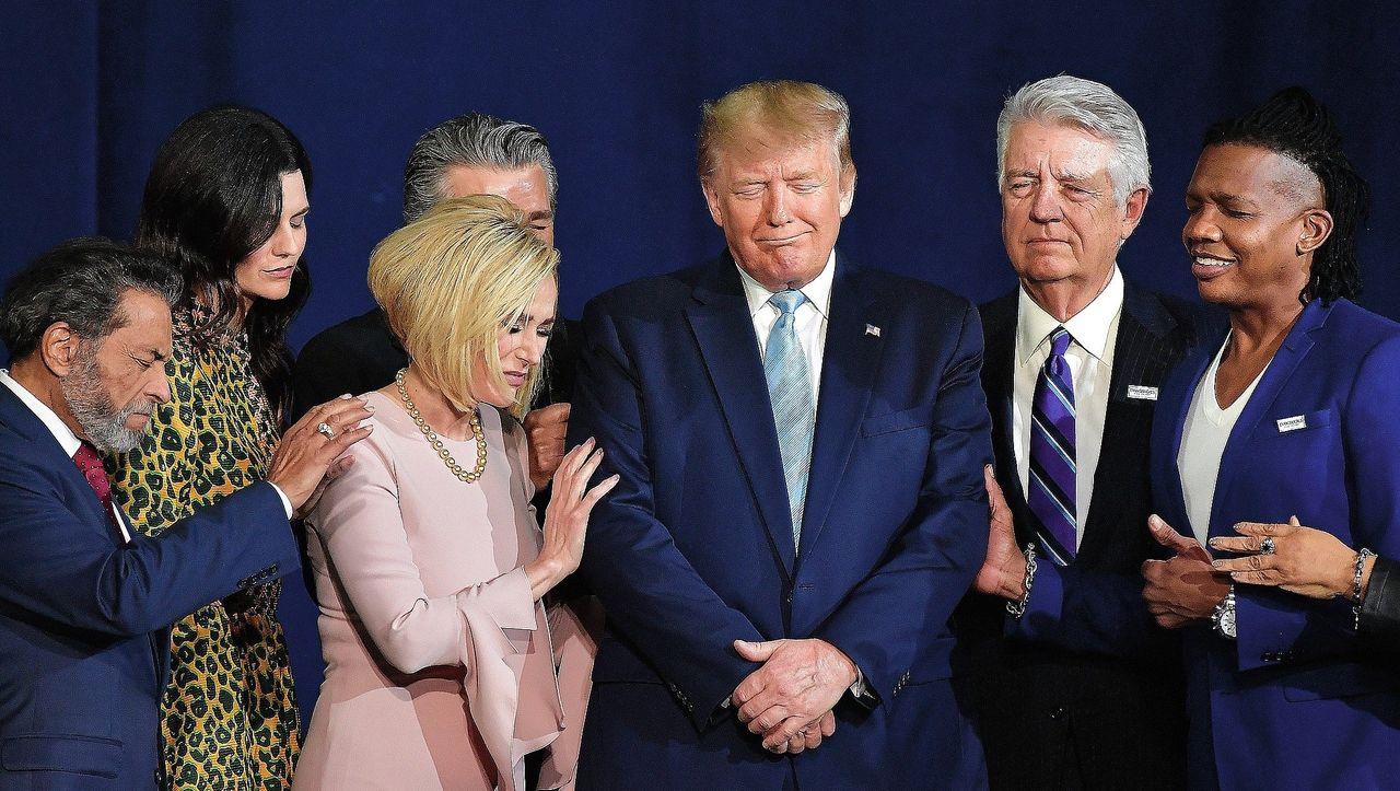 Evangelikale kämpfen für Trump: Ihr Gott im Weißen Haus