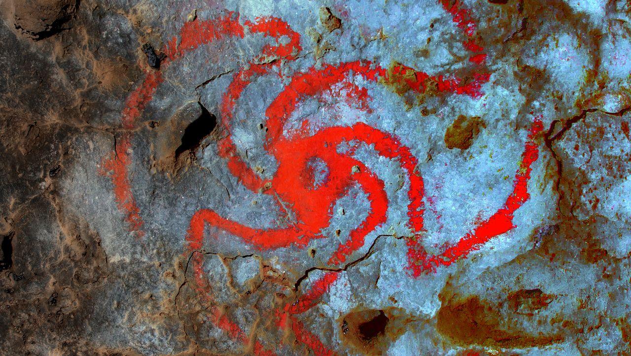 Amerikanische Ureinwohner: Drogenreste neben Zeichnung von halluzinogener Pflanze entdeckt