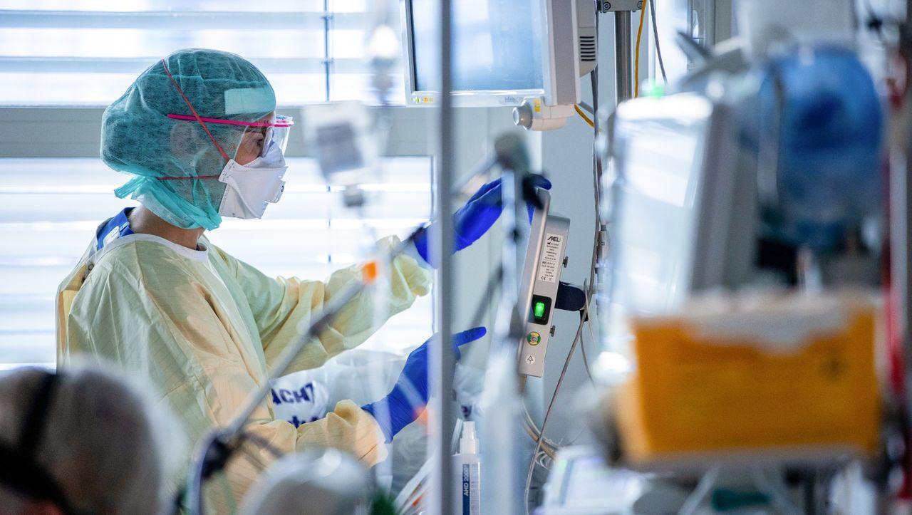 Covid-19 in Deutschland: Robert Koch-Institut meldet Höchstzahl an Todesfällen