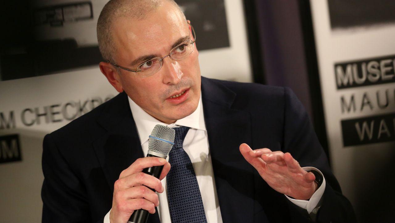 """Chodorkowski über Putin und US-Sanktionen: """"Im Kreml sitzen fantastische Idioten"""""""