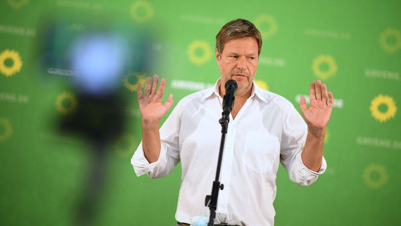 Grüne zum SPD-Kanzlerkandidaten Scholz: Nur nicht zu ernst nehmen