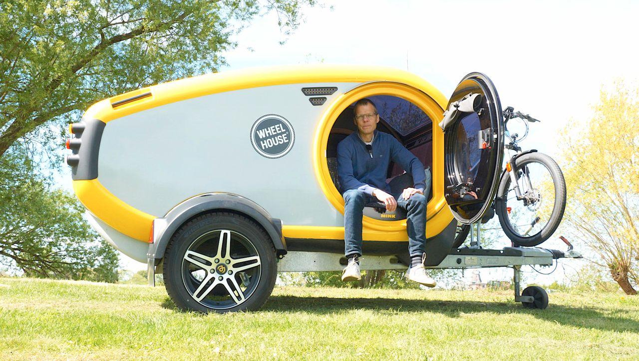 Wir drehen eine Runde - Miniwohnwagen Mink: Ein Ei zum Campen
