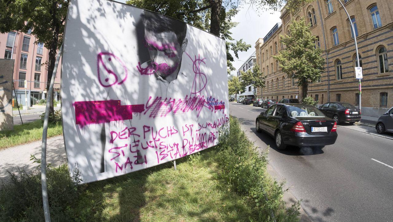 Vandalismus und Attacken: Der wüste Wahlkampf