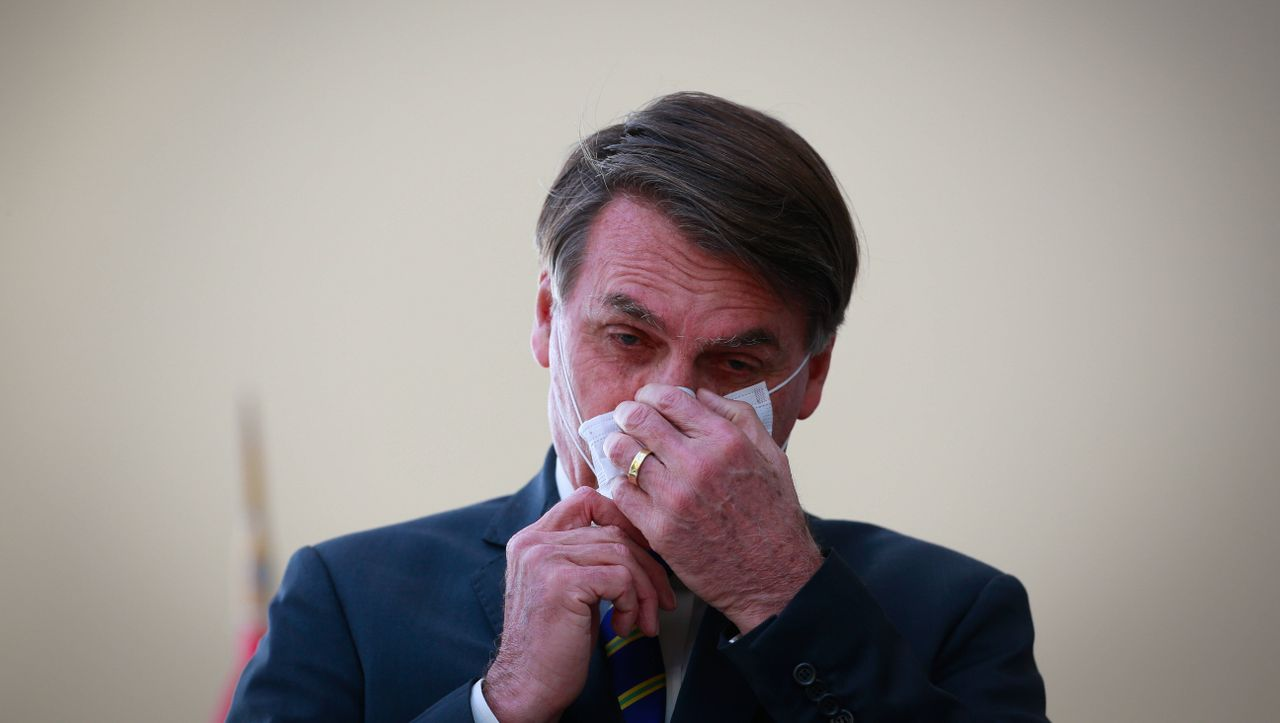 Infizierter Präsident: Brasilianische Journalisten müssen nach Ansprache von Bolsonaro in Quarantäne
