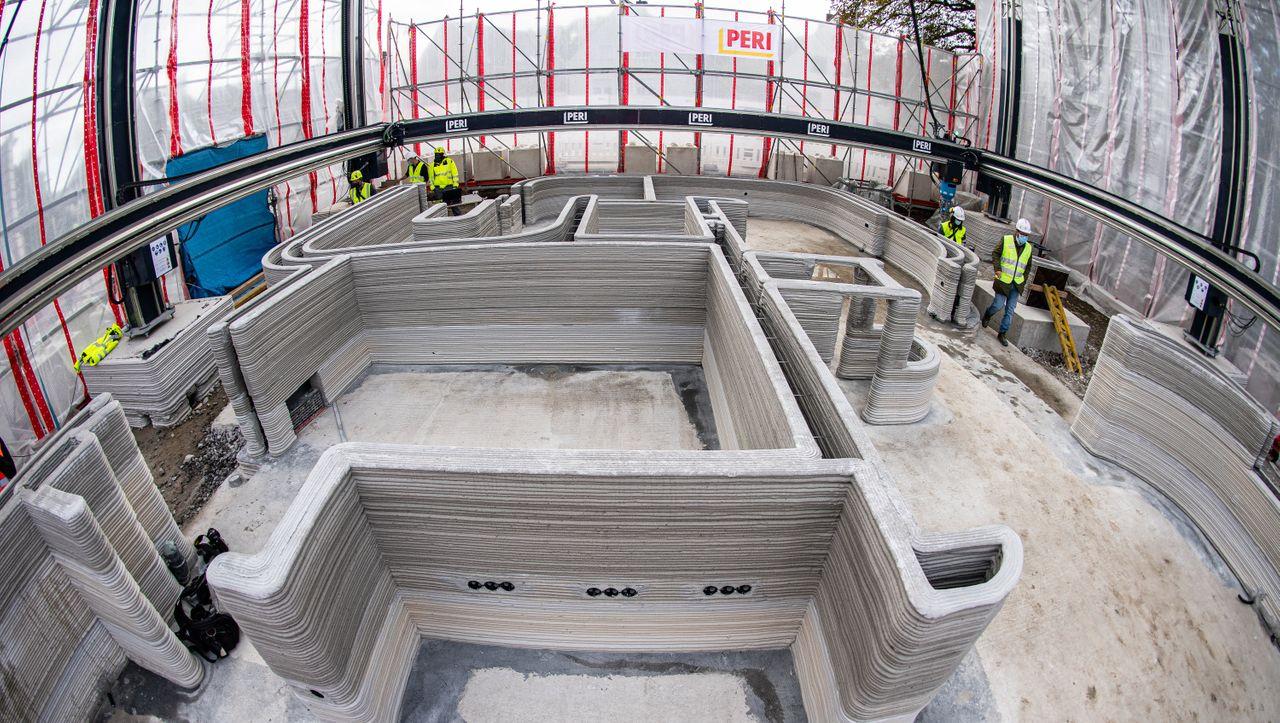 3D-Drucker baut erstmals Haus in Deutschland: Schicht für Schicht statt Stein für Stein
