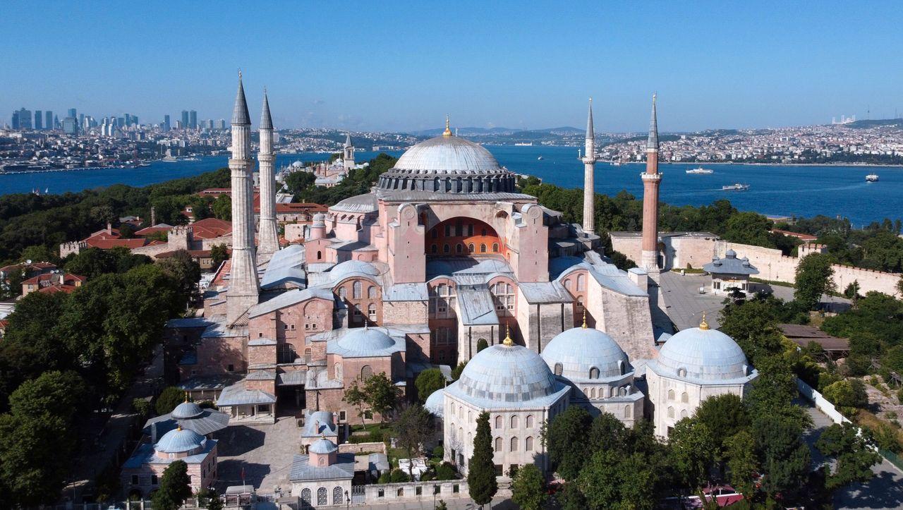 """Kritik an Umwandlung der Hagia Sophia: """"Eine Provokation für die zivilisierte Welt"""""""