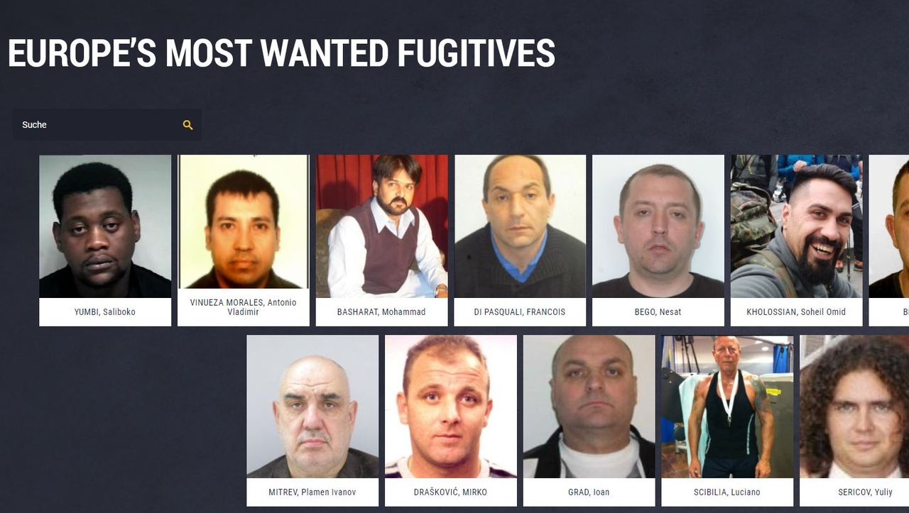 """Neue """"Most Wanted""""-Liste: Europol sucht gefährlichste Sexualverbrecher"""
