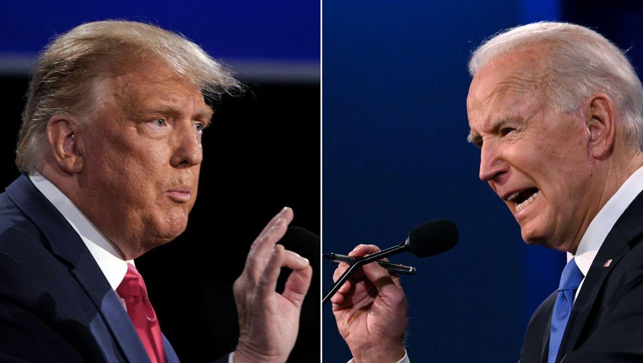 Trump vs. Biden im TV-Duell: Diesmal ging's zur Sache