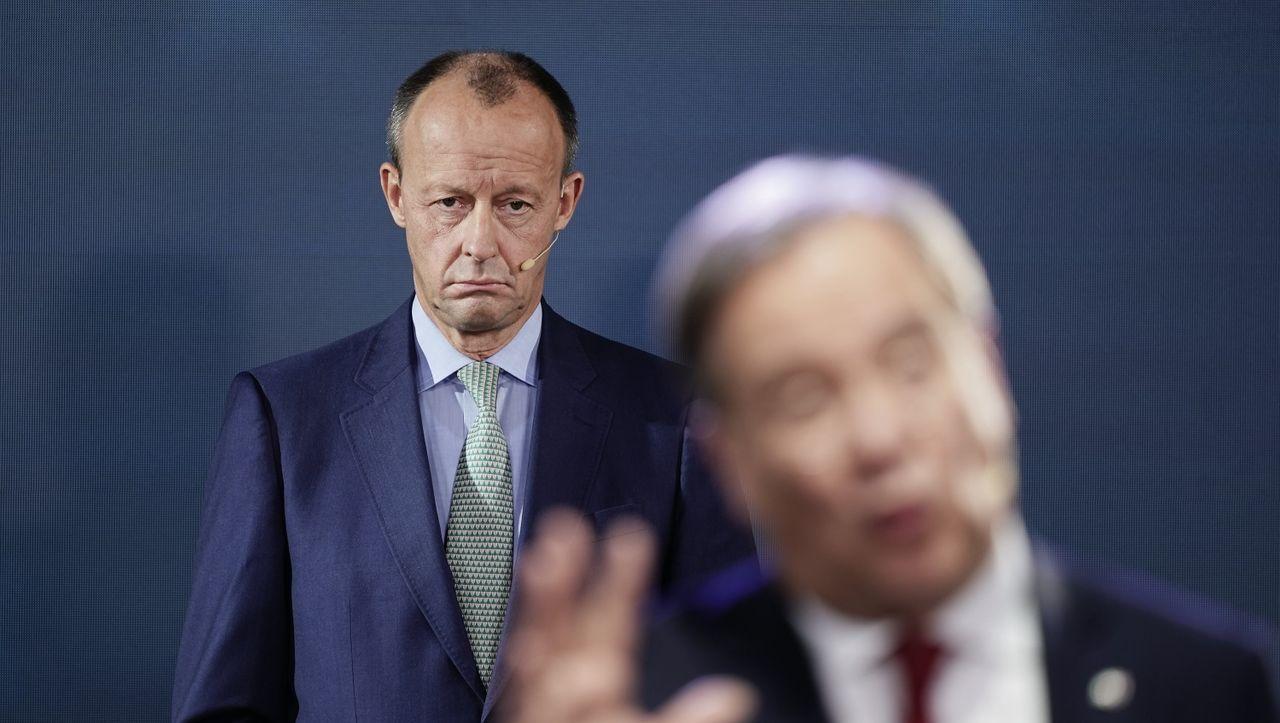Streit über CDU-Parteitag im Dezember: Merz weist Laschet-Forderung nach Verschiebung zurück