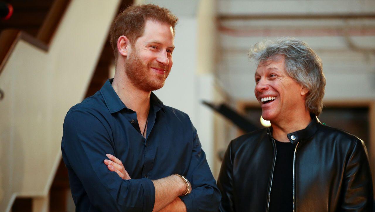 Im legendären Abbey-Road-Studio: Prinz Harry nimmt offenbar Song mit Jon Bon Jovi auf