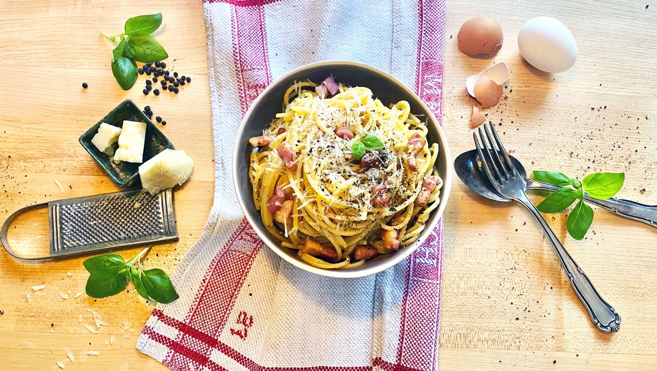 Nervennahrung: Heute gibt es Spaghetti Carbonara