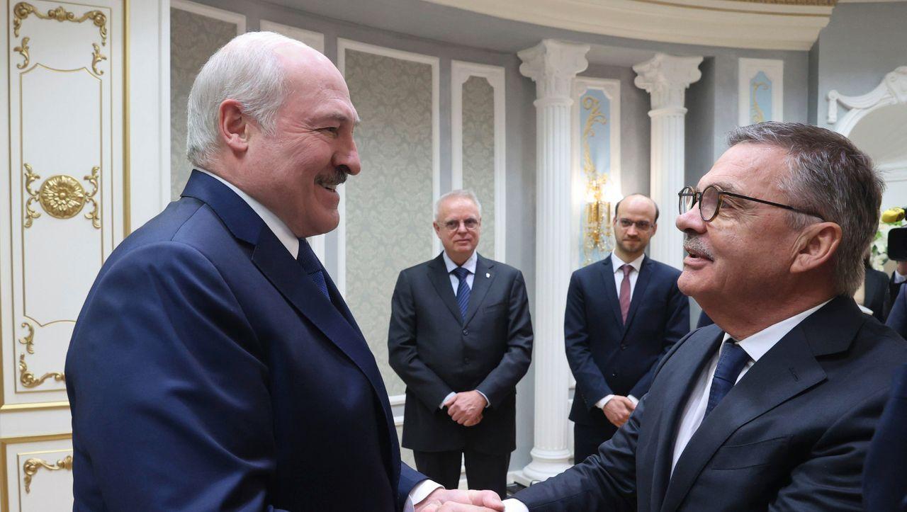 Eishockey-WM in Belarus: Hauptsponsor droht mit Ausstieg