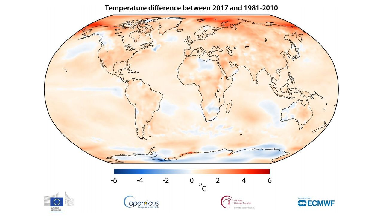 Seit Beginn der Industrialisierung: Menschheit erlebt die drei wärmsten Jahre