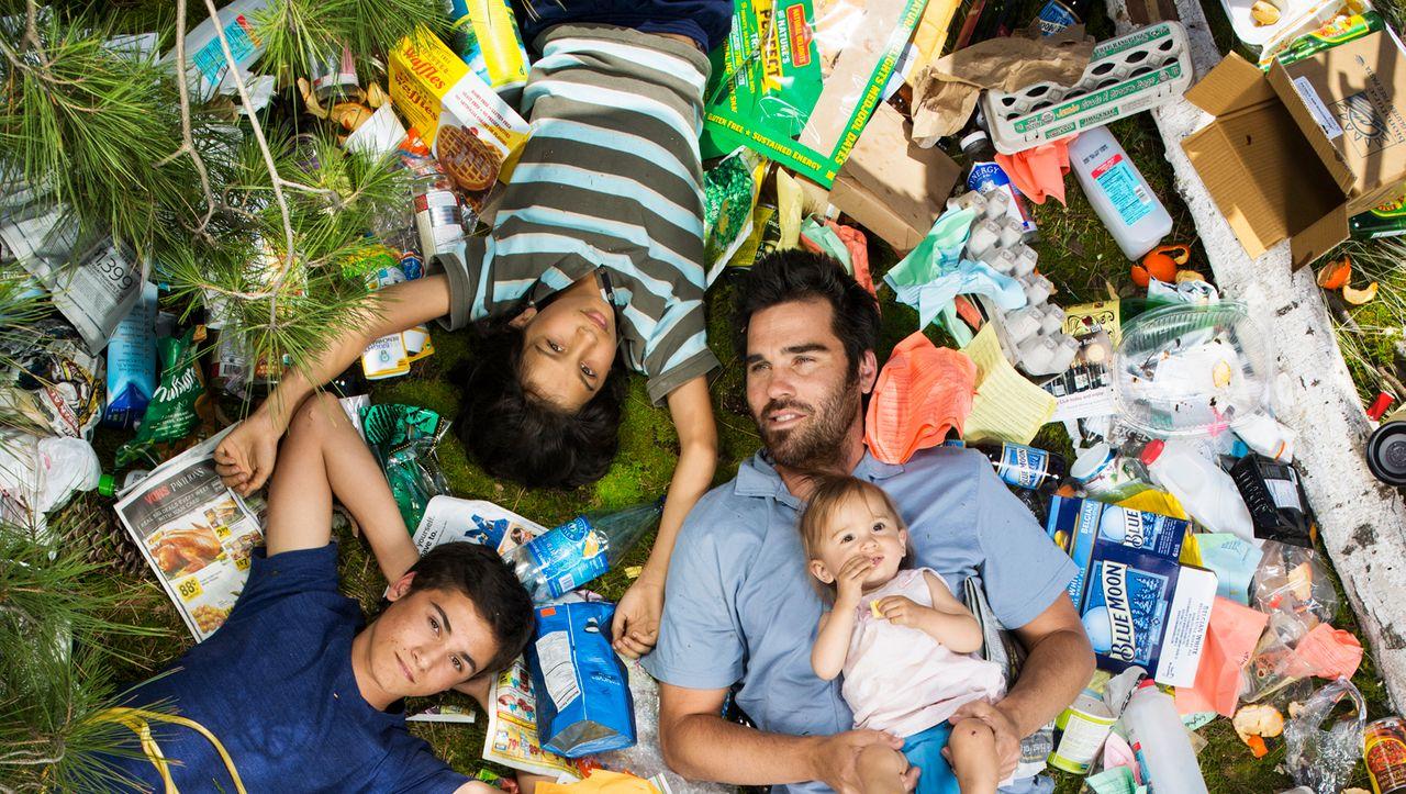 Plastik, Lebensmittel, Masken: So viel Müll produziert ein Haushalt in einer Woche