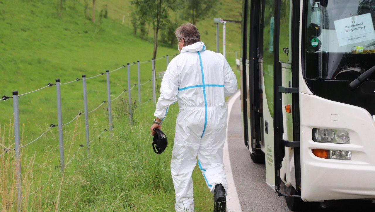 Bayern: Mann tötet Ex-Partnerin in Linienbus