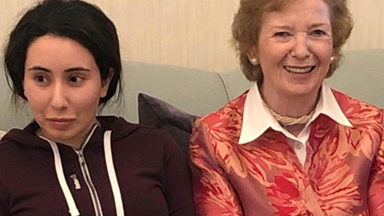 Gefangene Emirstochter in Dubai: Irlands Ex-Präsidentin bedauert eigene Naivität