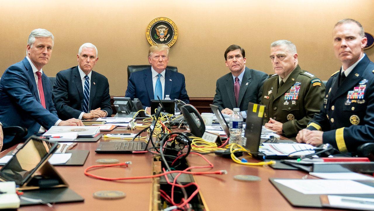 Trump-Foto von Baghdadi-Tötung: Bildausfall
