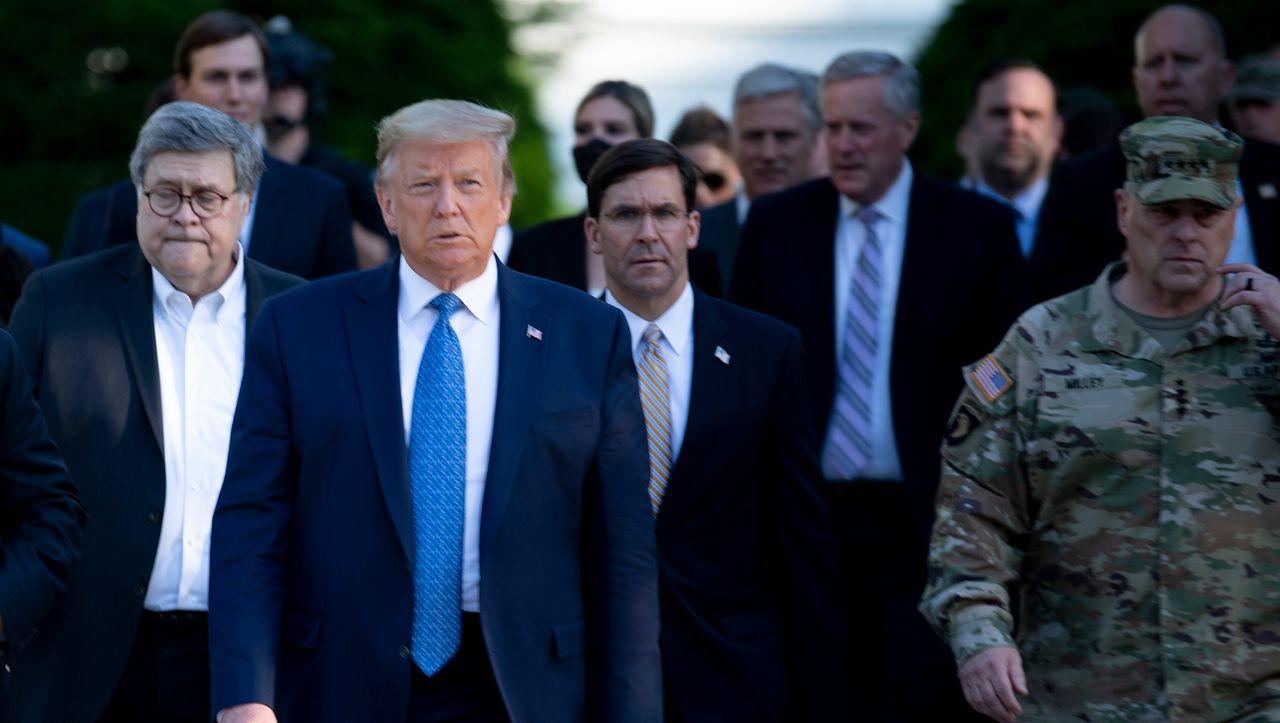 Umstrittener Einsatz: Trumps Justizminister soll Räumung vor Weißem Haus persönlich angeordnet haben