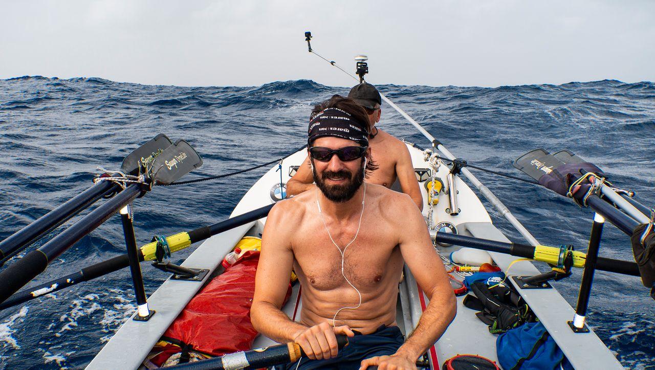 """Im Ruderboot über den Atlantik: """"Ich war auf Überlebensmodus konditioniert"""""""