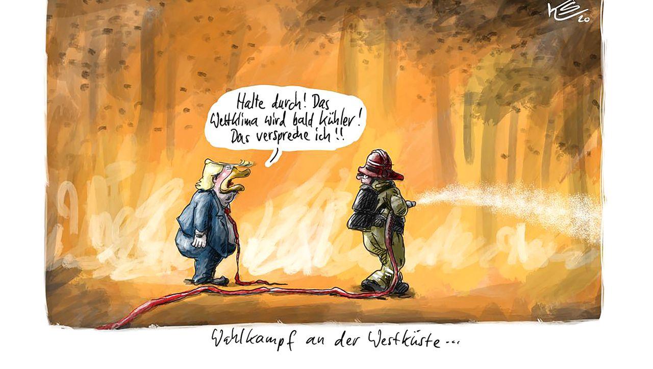 Cartoons der Woche: Heiß und fettig
