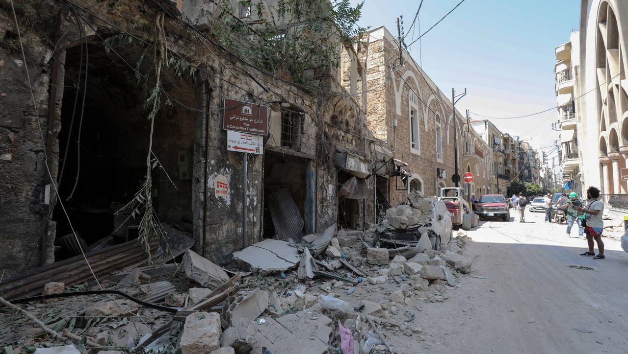 """Deutscher Augenzeuge in Beirut: """"Nicht enden wollende, kilometerlange Zerstörung"""""""