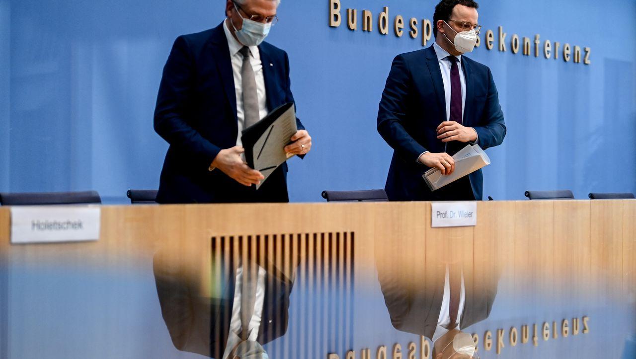RKI-Chef Lothar Wieler: »Wir sehen aktuell deutliche Signale einer Trendumkehr«