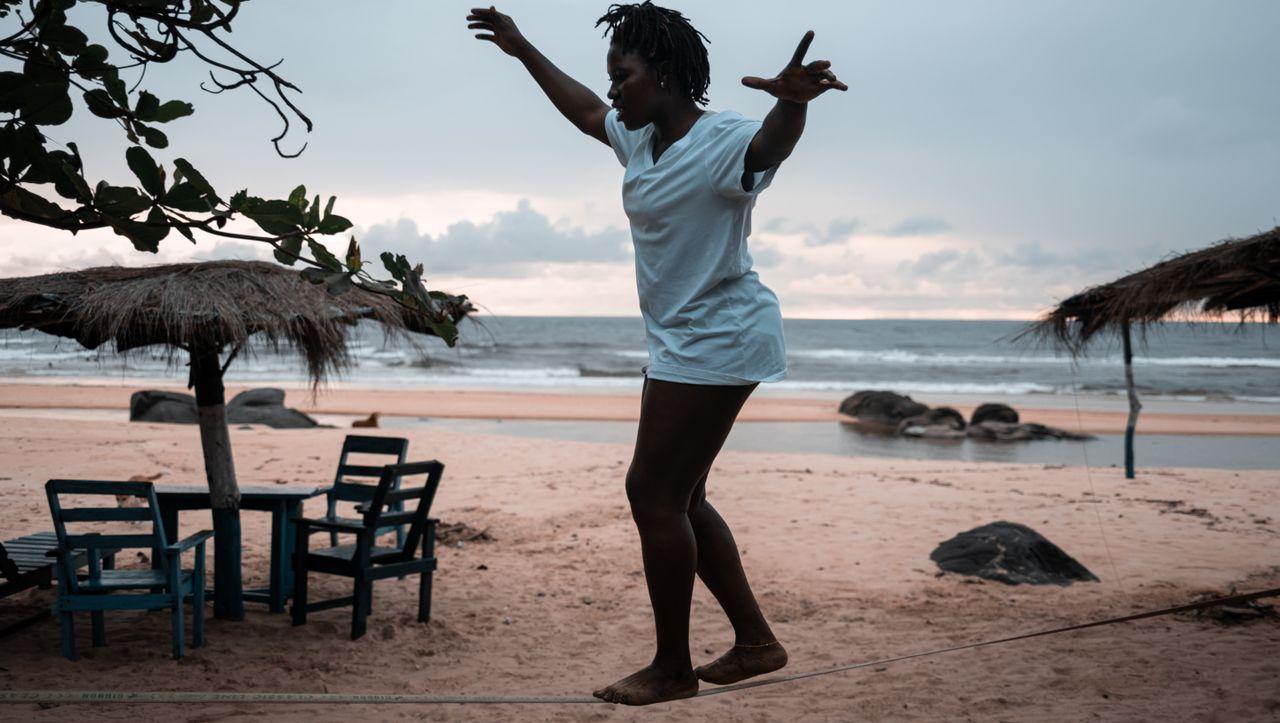 Surferinnen in Sierra Leone: Welle der Hoffnung