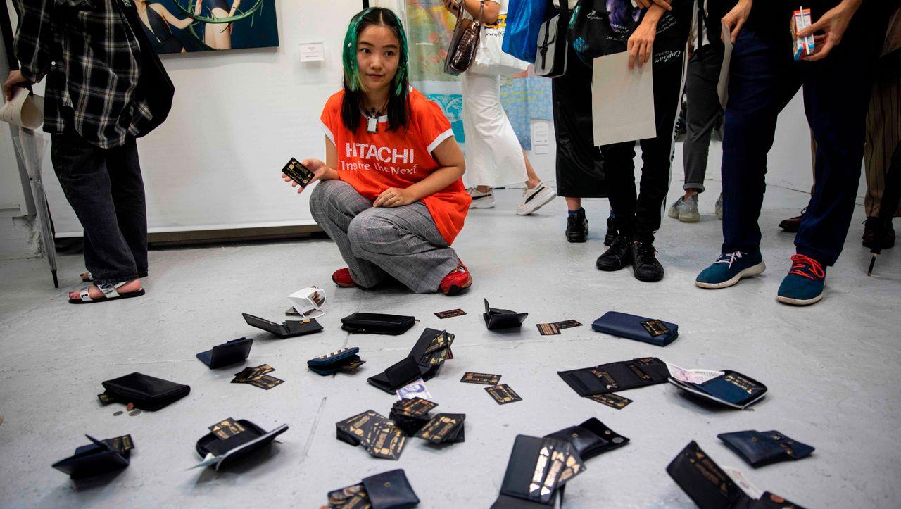 Kunstaktion in Japan: Ausstellung in Tokio komplett geplündert