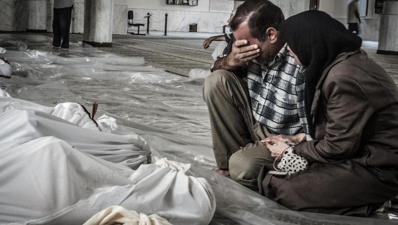 Chemiewaffenangriffe in Syrien: »Menschen lagen wie Ameisen auf dem Boden«