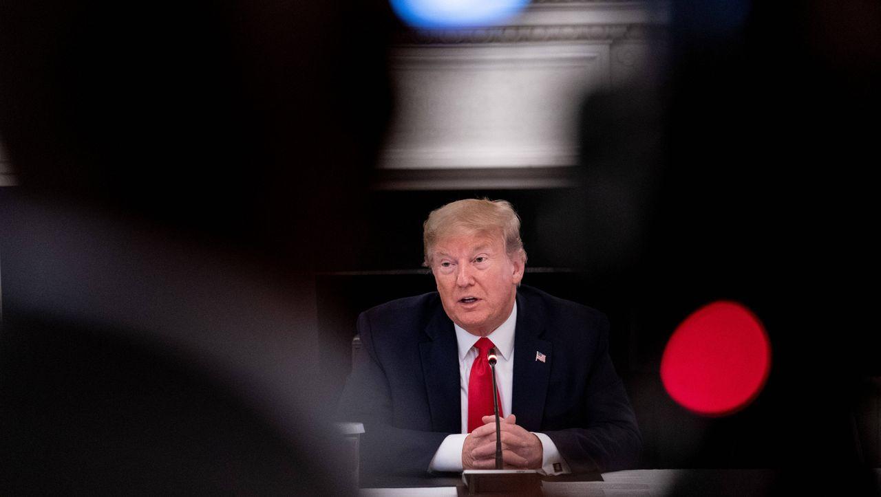 +++ Livestream +++: Donald Trump spricht vor der Presse