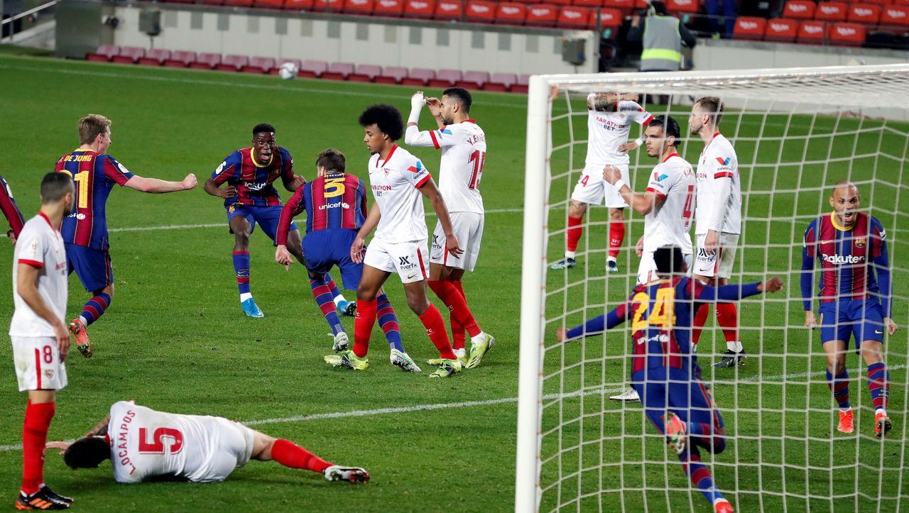 Barcelonas dramatisches Pokalspiel gegen Sevilla: Elfmeter abgewehrt, in die Verlängerung gerettet, Finale erreicht