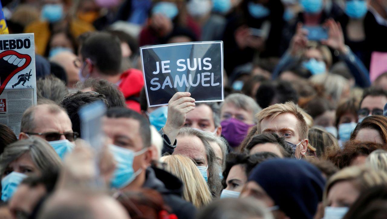 Mord an Samuel Paty schockiert Frankreich: Der Lehrer, der die Meinungsfreiheit verteidigte