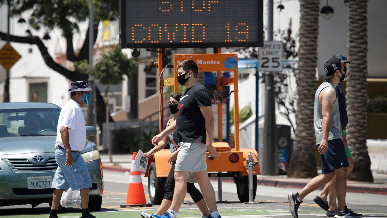 Corona in den USA: Kalifornien verlängert weitreichenden Lockdown
