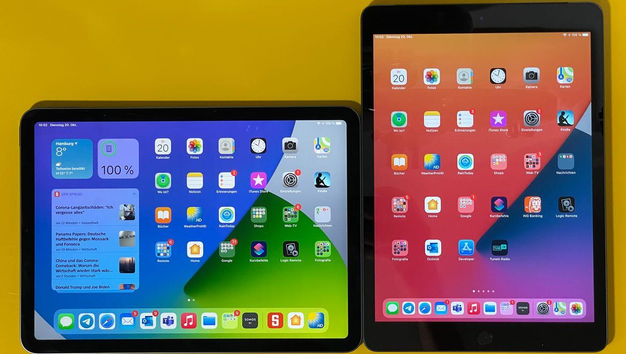 iPad Air und iPad 8 im Test: Das können die neuen Tablets
