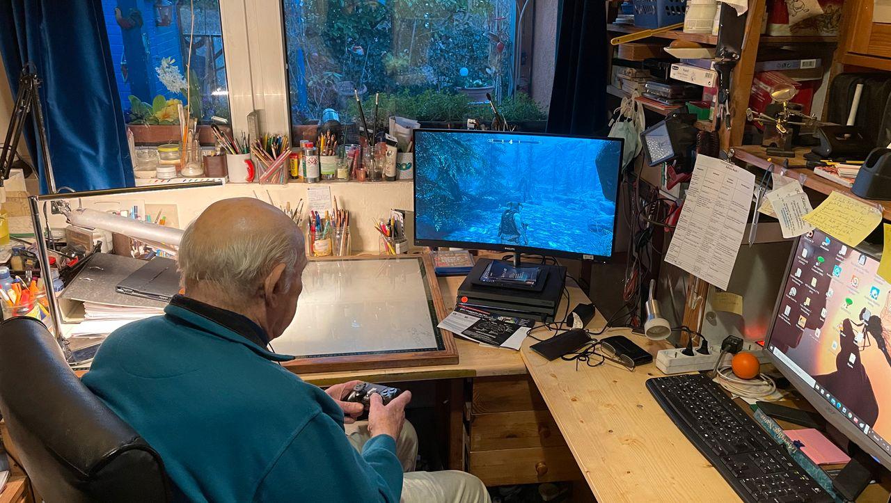 Social-Media-Phänomen: Der 88-Jährige, der einen Aushang machte, um beim Videospielen weiterzukommen
