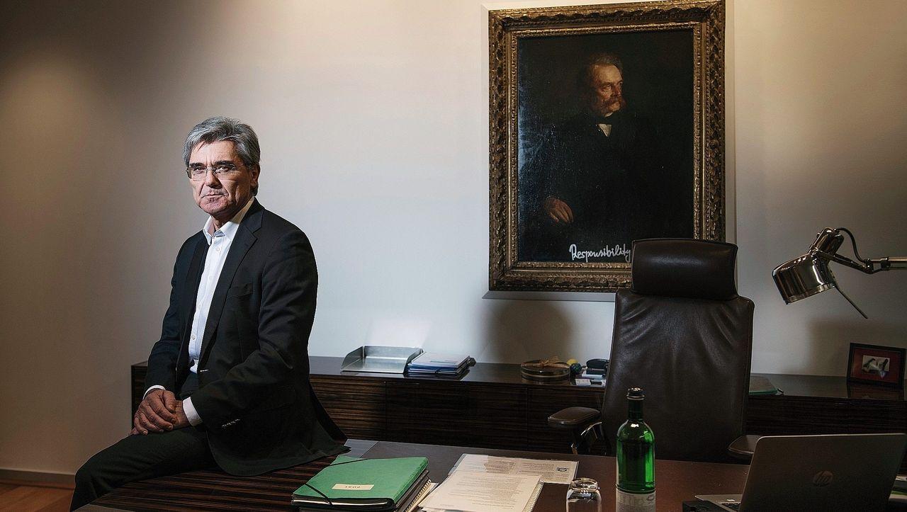 Siemens-Chef Kaeser und sein schwieriges Erbe: Big Joes Show ist vorbei