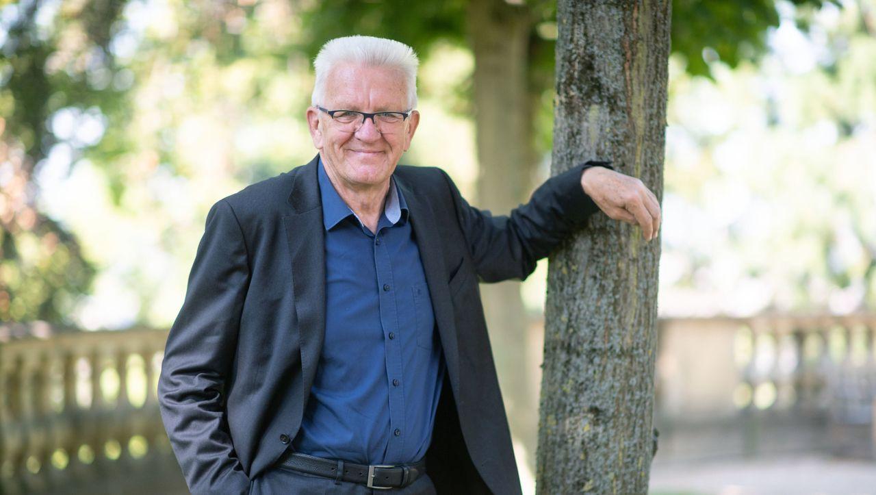 Winfried Kretschmann und sein Podcast: Wahlkampf mit lebenden Fossilien