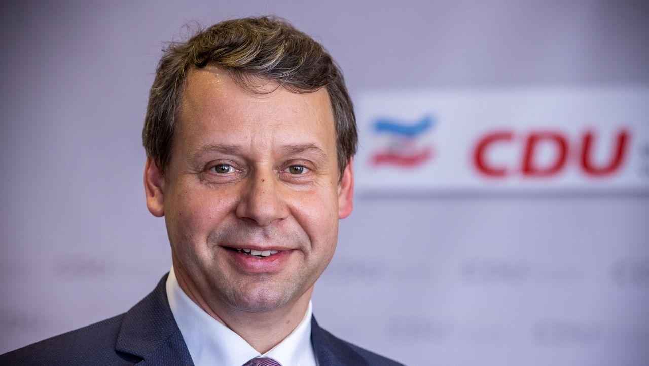 Mecklenburg-Vorpommern: Michael Sack ist neuer CDU-Landeschef