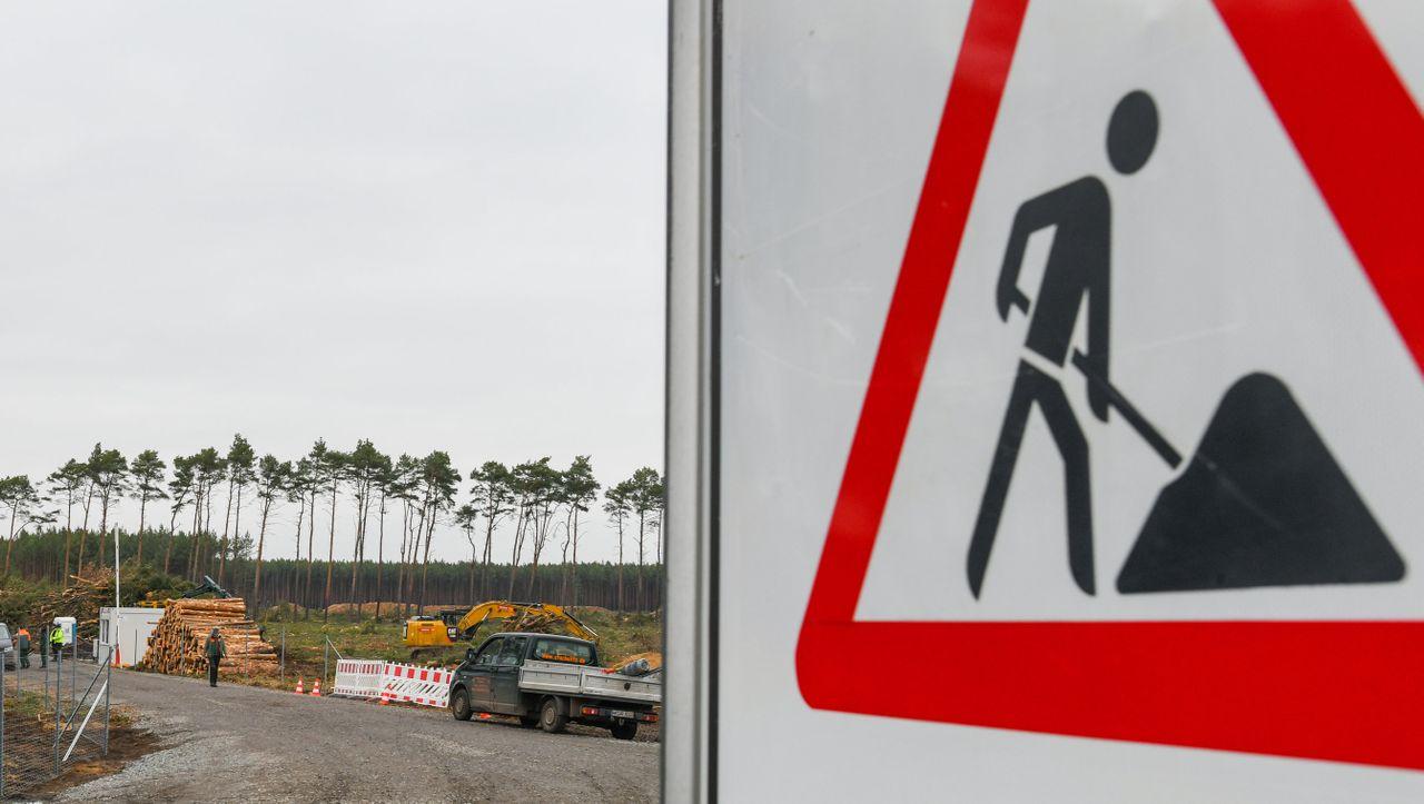 Sicherheitsleistung: Tesla vermeidet Baustopp in Brandenburg mit 100 Millionen Euro