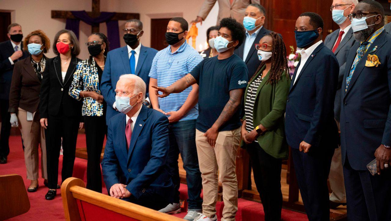Brief an Joe Biden: Prominente Afroamerikaner verlangen schwarze Vize-Präsidentschaftskandidatin
