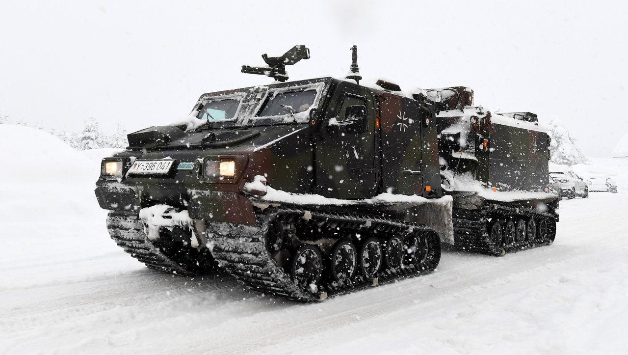 Winter in Bayern: Bundeswehr startet Lawinensprengungen