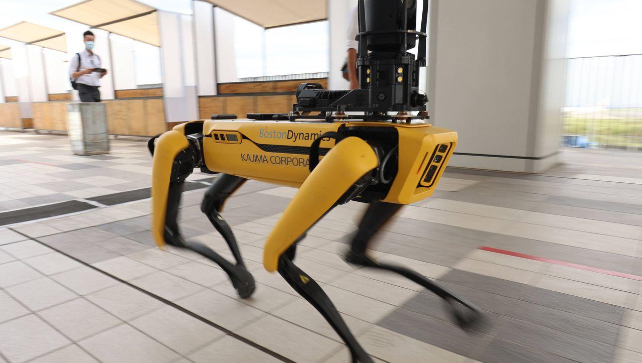 Boston Dynamics: New Yorker Polizei setzt Roboterhund ein