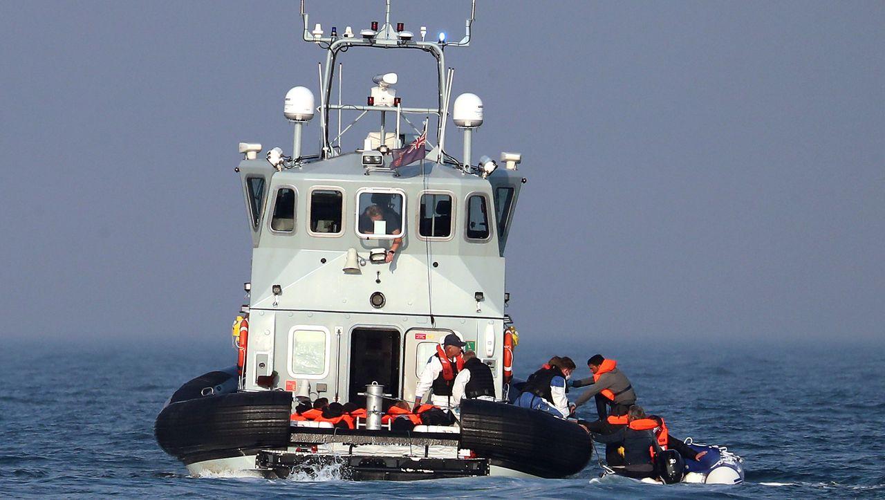 Auf dem Weg nach Großbritannien: Französische Küstenwache rettet 38 Migranten im Ärmelkanal