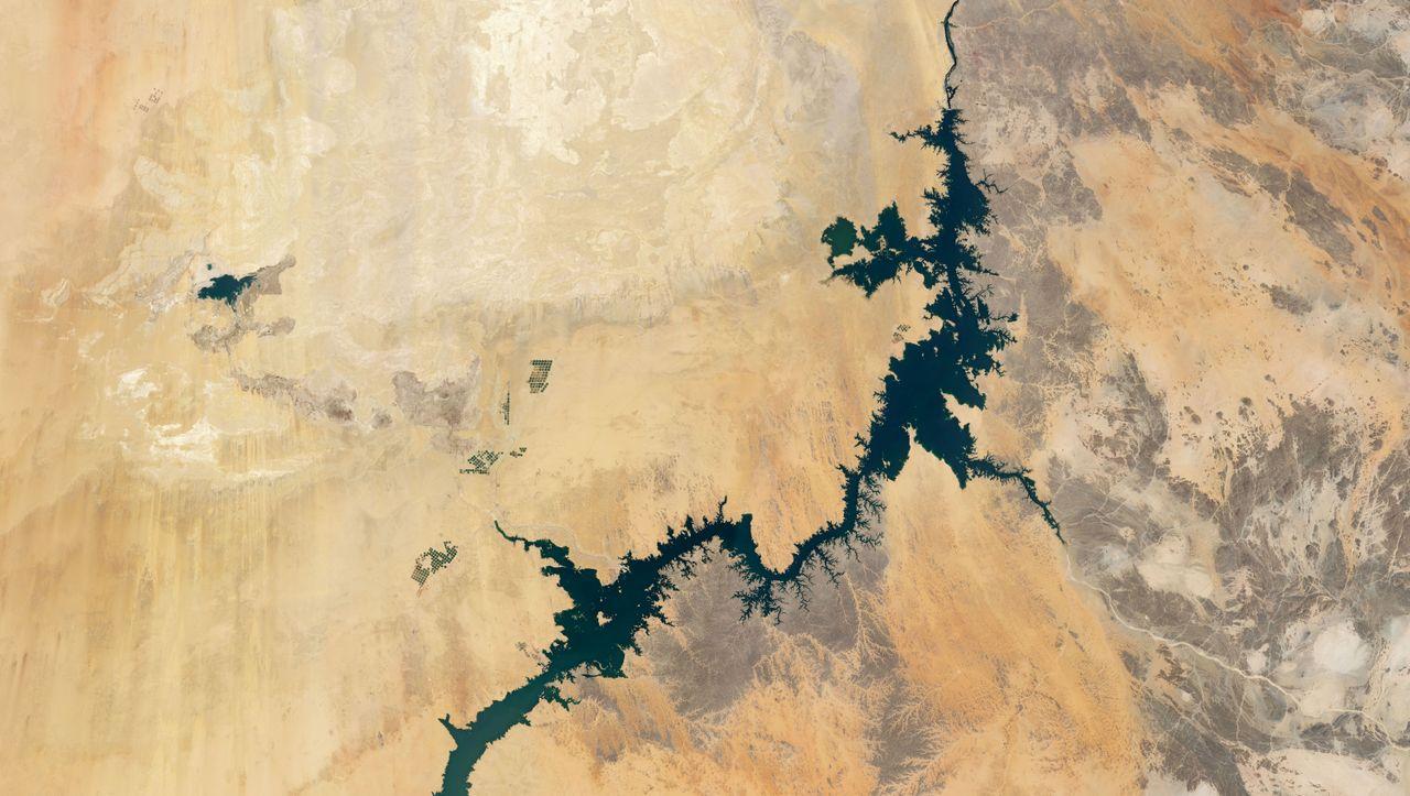 Satellitenbild der Woche: Am See des Pharaos