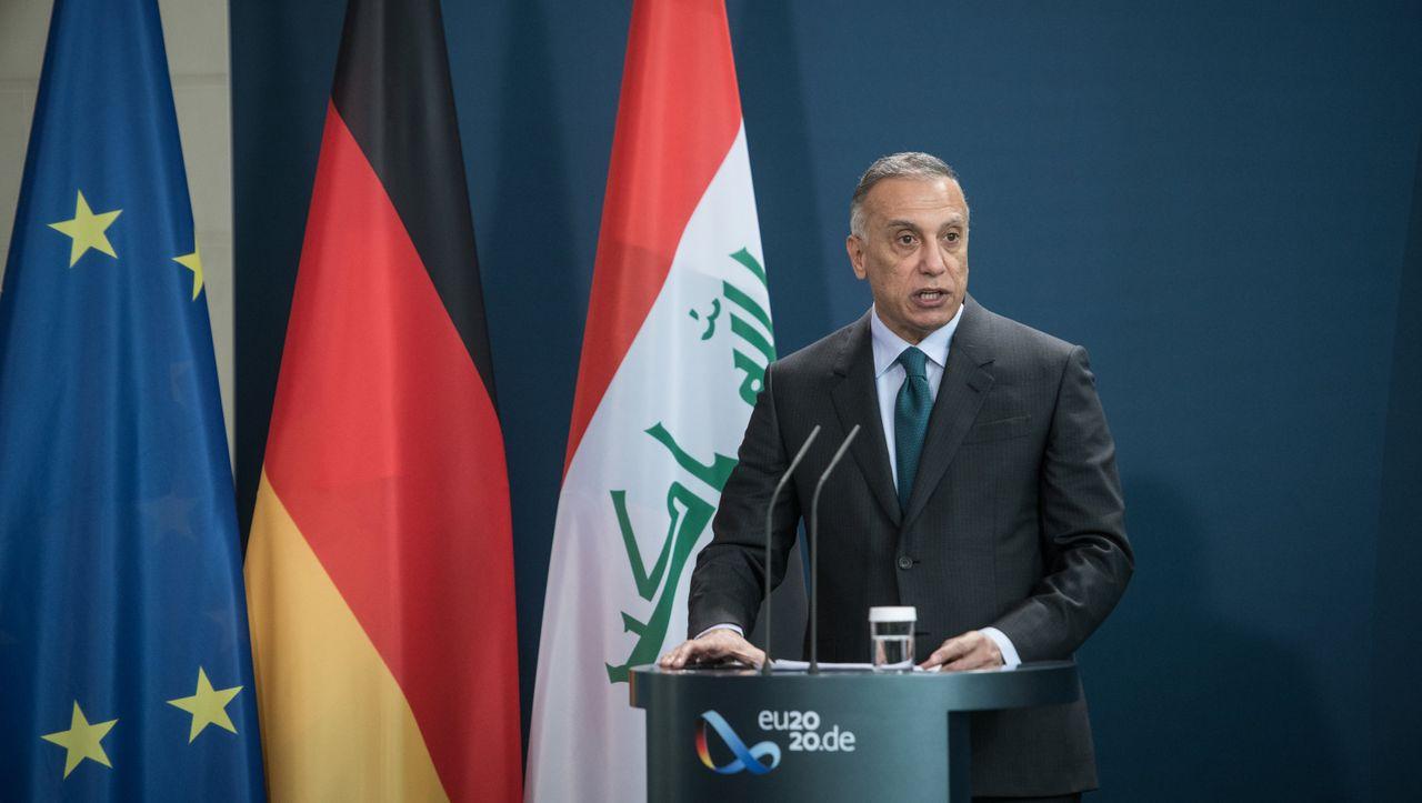 Mustafa al-Kasimi zum Antrittsbesuch in Berlin: Iraks ungewöhnlicher Premier